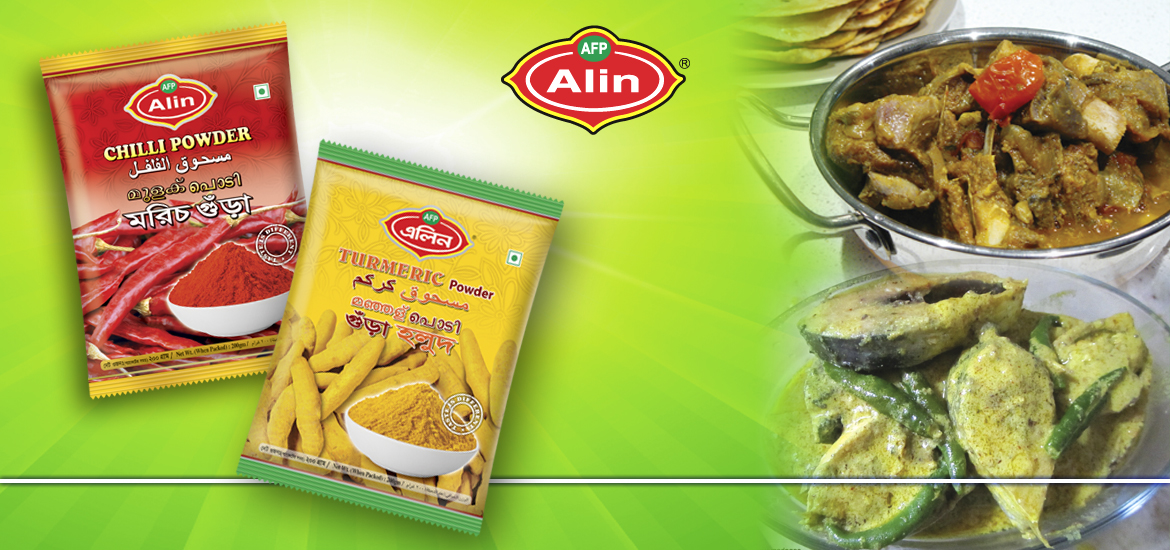 Alin Turmeric & Chili Powder