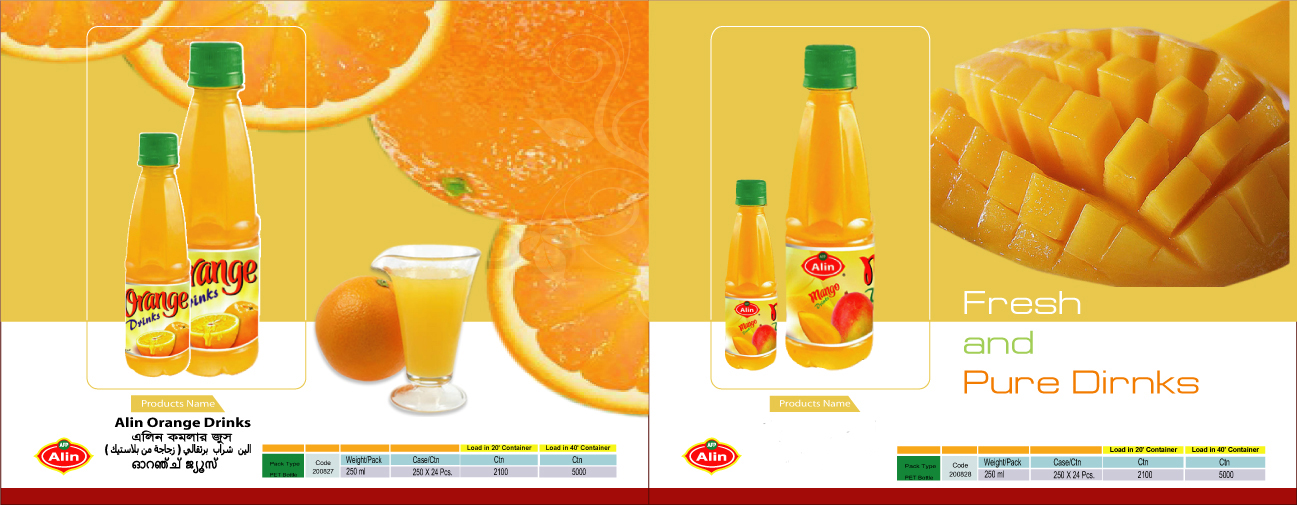 Alin Mango & Orange Drinks